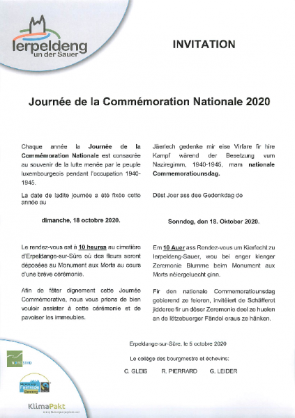 20201007 Commémoration nationale 2020 invitation